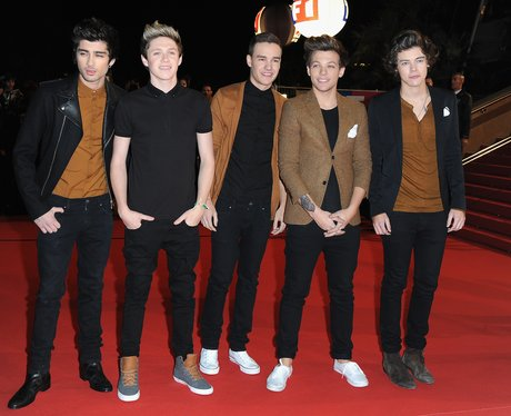 One Direction at the NRJ Music Awards 2013 in France