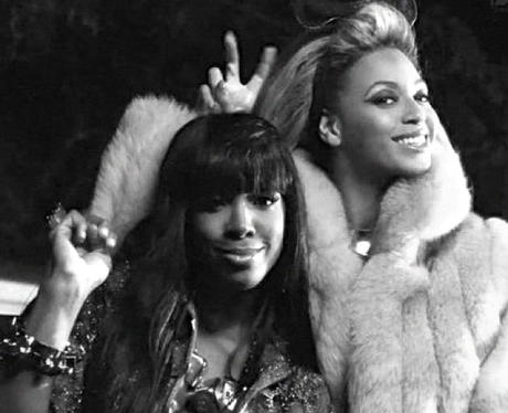 Kelly Rowland and Beyonce Knowles celebrate a birthday
