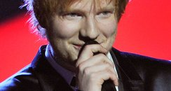 Ed Sheeran BRIT Awards 2013 On Stage