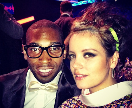 Tinie Tempah And Lilly Allen BRITS 2013