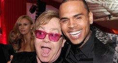 Chris Brown and Elton John