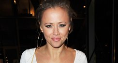 Kimberley Walsh on a night out