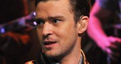 Justin Timberlake performs during a taping of 'Lat