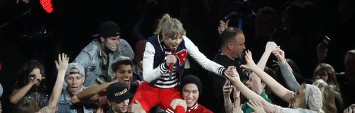 Taylor Swift kicks off The Red Tour
