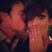 Image 1: Frankie Sandford kissed by wayne bridge wearing engagement ring