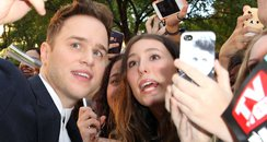 Olly Murs with fans