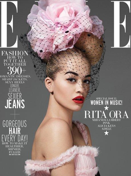 Rita Ora ELLE April 2013