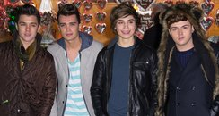 Union J at winter wonderland