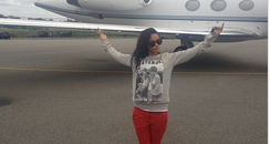 Rihanna Private Jet Instagram