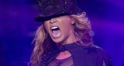 Beyonce performs on her Mrs Carter tour