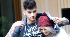 Zayn Malik and Perrie Edwards together