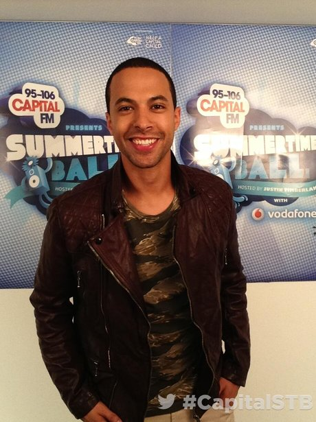 Marvin Humes At The Summertime Ball 2013 Twitter Mirror