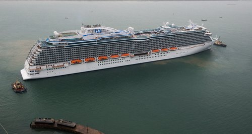 Southampton Welcomes Ten Cruise Ships In Three Days