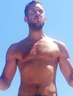 Calvin Harris Topless