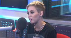 MIley Cyrus On Capital FM