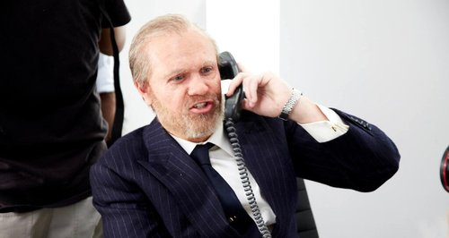 Niall Horan dressed as an old man