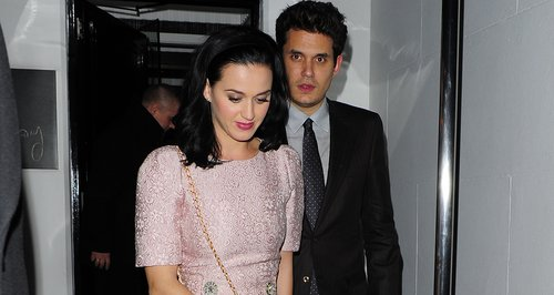 Katy Perry and John Mayer in London