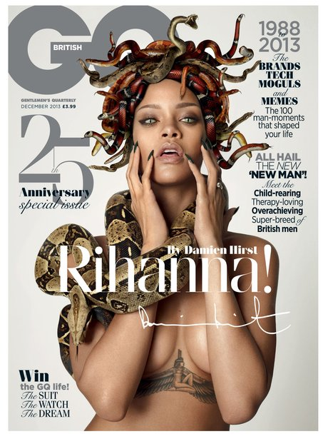 Rihanna cover GQ's 25th Anniversary issue