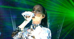 Katy Perry performs live on stage at the MTV EMA's