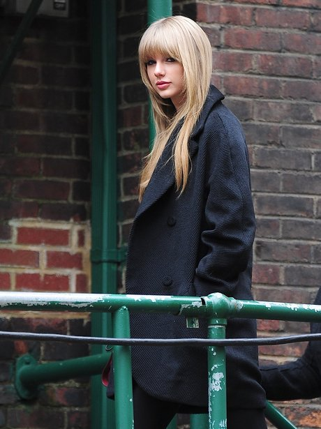 Taylor Swift attends rehearsals