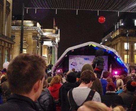 Newcastle Christmas Lights 2013