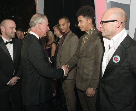Rizzle Kicks with Prince Charles