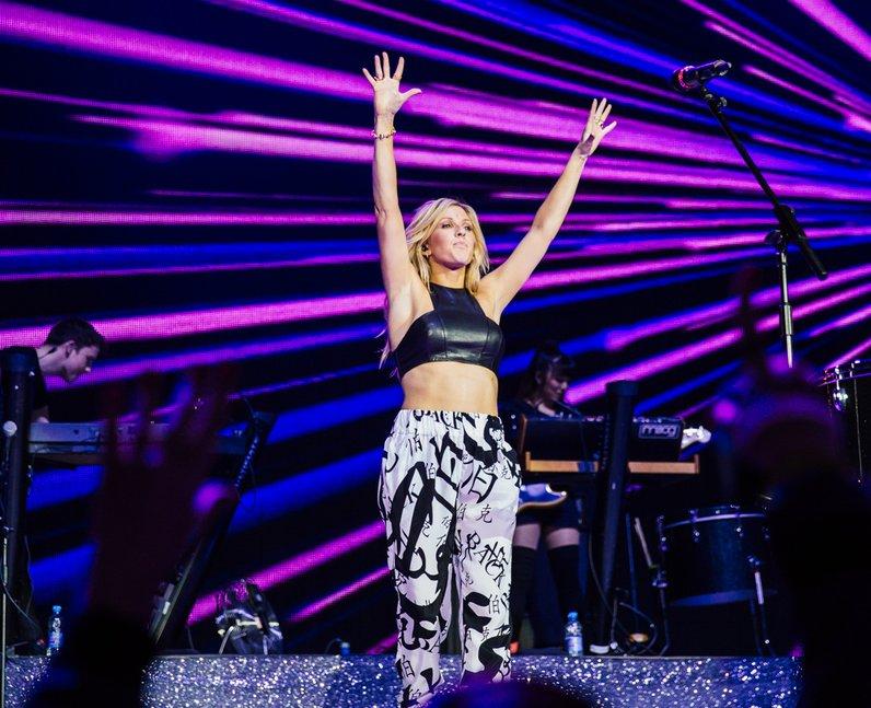 Ellie Goulding live Jingle Bell Ball 2013