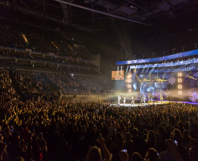 The Jingle Bell Ball Crowd's View Of Katy Perry's ...