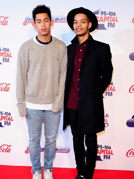 Rizzle Kicks Red Carpet Jingle Bell Ball 2013