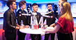 Union J Webchat Jingle Bell Ball 201