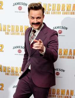 Olly Murs Anchorman 2 Premiere