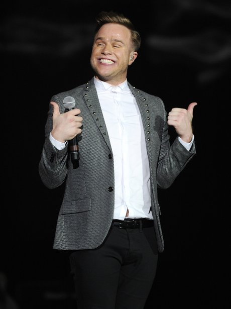 Olly Murs at the Jingle Bell Ball 2013