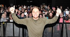Olly Murs and Fans