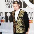 John Newman BRIT Awards 2014 Red Carpet