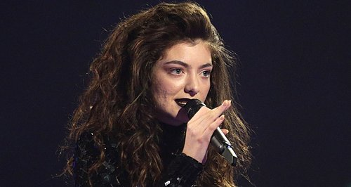 Lorde BRIT Awards 2014 Winner