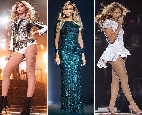 Beyonce Tour Costumes