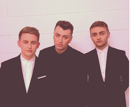 Sam Smith and Disclosure pose together on Twitter