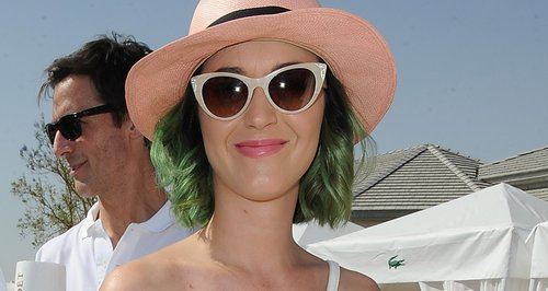 Katy Perry attends a pool party