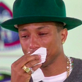 Pharrell crying Oprah