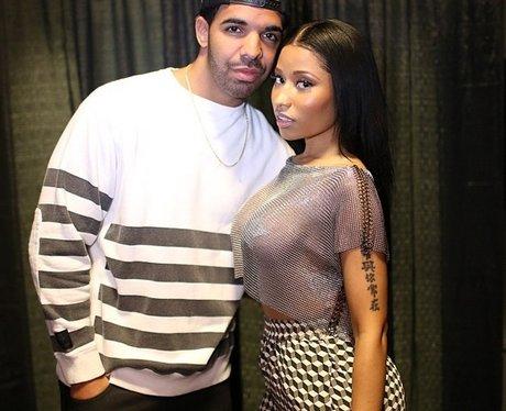 Drake And Nicki Minaj Backstage At Summer Jam