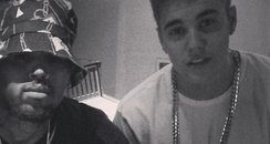 Justin Bieber Chris Brown Instagram