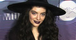 Lorde Much Music Awards 2014