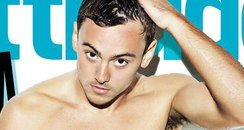 Tom Daley Attitude Magazine 2014