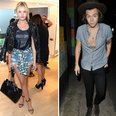 Paige Reifler and Harry Styles attend event