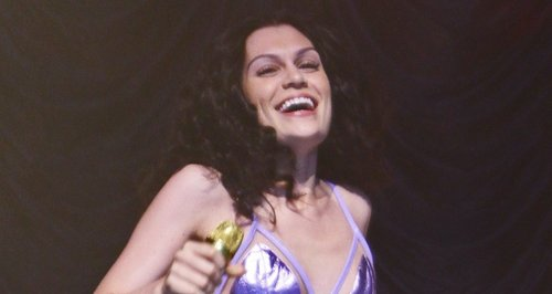 Jessie J wearing hotpants