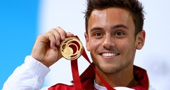 Tom Daley wins gold at the Commonwealth Games 2014