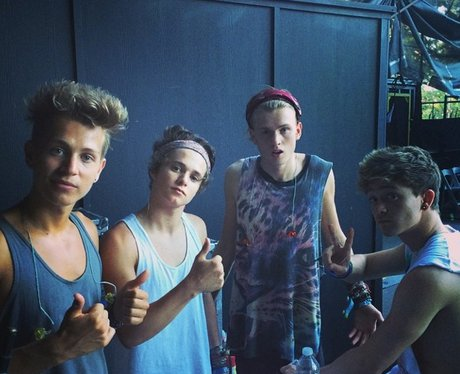 The Vamps in America