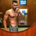 Image 10: Louis Smith shows off his abs