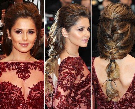 Cheryl Hair Up