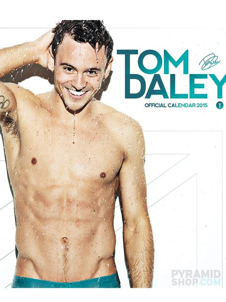 Tom Daley gets naked in his 2015 calendar